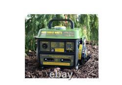 1000/900-Watt Portable Gas Generator Gasoline Powered Camping Hunting Tailgating