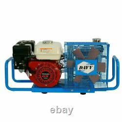 100L/Min 5.5HP Gas Powered Air Compressor Gasoline Scuba Paintball Tanks Refill