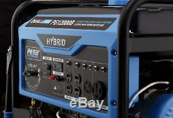 12,000-Watt Dual Fuel Gas Powered Electric Start Generator with Wheel Kit NEW