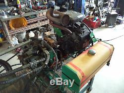18hp Gas Powered Portable Hydraulic Tugger Winch 1/4 Cable REFURBISHED