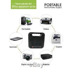 220Wh 300W Energy Storage Portable Power Solar Generator Inverter USB Gas-free