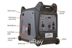 3200 Watt Gas Powered Inverter Generator Dirty Hand Tools