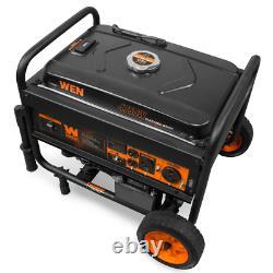 4750-Watt Gasoline Powered Portable Generator With Electric Start