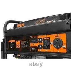 4750-Watt Gasoline Powered Portable Generator with Electric Start Job Work Site