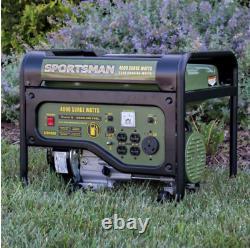 4,000/3,500 Watt Gasoline Powered Best Portable Generator Gas RV Outlet Emergenc
