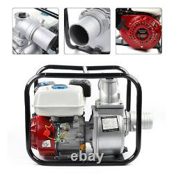60m3/h Portable Gas-Powered Water Pump with 210cc OHV Engine 198GPM Trash Pump