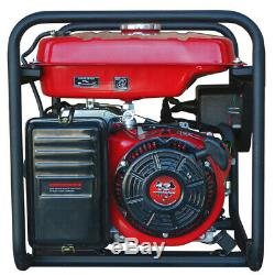 7500 Watt Generator Gas Power Portable Home Use Residential 120/220 Outlet Wheel