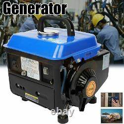 800 w Gas Powered Portable Generator Hand Start 110 v Power Generation Machine