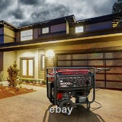 9000 Watt Max Electric Gas Fuel Powered Generator Portable similar Pulsar Carb