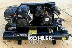 AMP Kohler SH 265 3000 Series Commercial Grade Gas Powered Air Compressor