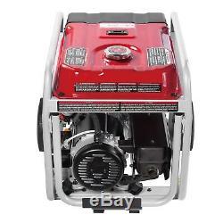 A-iPower 12000 Watt Gas Powered Portable Generator Electric Start With Wheel Kit