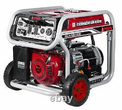 A-iPower 12,000-W Portable Gas Powered Electric Start Generator with Wheel Kit