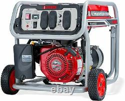 A-iPower 4,500-W Portable Gas Powered Generator with Wheel Kit Home RV Camping