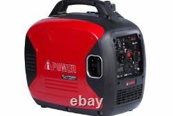 A-iPower SUA2000I 2,000-Watt Gasoline Powered Portable Inverter Generator New