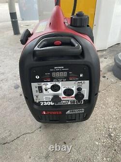 A-iPower SUA2300i Portable 2300-Watt Gasoline Powered Inverter Generator