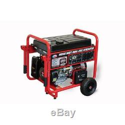 All Power 10,000-W Portable Dual Fuel Gas Powered Generator with Electric Start