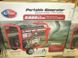 All-Power America Portable Generator APGG6000, 6000 Watt, Gas