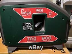 Baja Propane Gas Powered Inverter Generator Recreation CARB Compliant 900 Watt