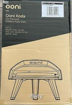Brand New In Hand Ooni Koda Gas Powered Portable Outdoor 13 Pizza Oven Nib