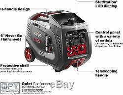 Briggs & Stratton 3,000-W Quiet Portable RV Ready Gas Powered Inverter Generator