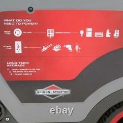 Briggs & Stratton 6,500-W Quiet Portable RV Ready Gas Powered Inverter Generator