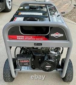Briggs and Stratton 5000-Watt 389cc Gas Powered Portable Generator