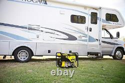 Champion 4,500-W Quiet Portable RV Ready Gas Powered Generator Home RV Camping