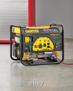 Champion Power 3500With4375W Dual Fuel Generator Portable Generator Gas or Propane
