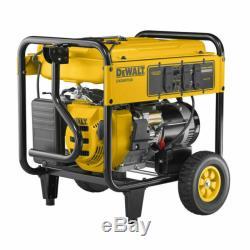 DEWALT 7000W Gasoline Powered Electric Start Portable Generator DXGNR7000
