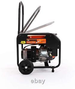 Dual Fuel Generator Gas Propane LP Powered Portable CARB Compliant Quiet Home RV
