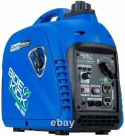 DuroMax 2,200-Watt Super Quiet Portable Dual Fuel Gas Powered Inverter Generator
