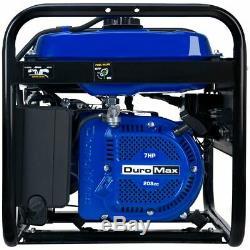 DuroMax 4000 Watt Gas Powered RV Camping Portable Generator RV Camping XP4000S