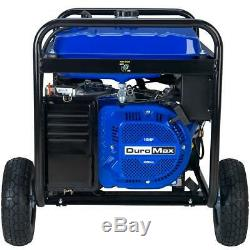 DuroMax 8500 Portable Gas Powered Electric Start RV Camping Generator XP8500E