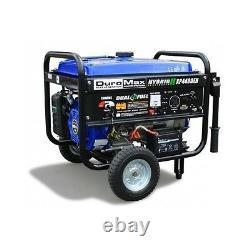 DuroMax Powered Portable Generator Dual Fuel Propane Gas Watt Camping RV Start