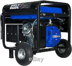 DuroMax XP10000E Gas Powered Portable Generator Electric Start