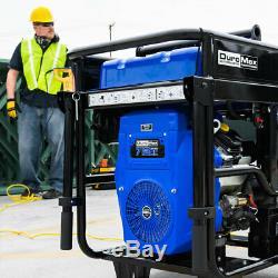 DuroMax XP15000E 15000-Watt V-Twin Gas Powered Electric Start Portable Generator