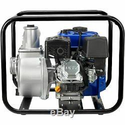 DuroMax XP650WP 3'' Portable 7 HP Gas Power Water Trash Pump NPT Threaded