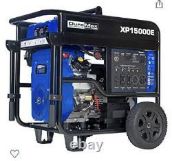 Duromax XP15000e 15,000 watt Gas Powered Portable Generator