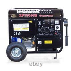 Duromax Xp10000e 10000-watt 16-hp Portable Gas Electric Start Generator
