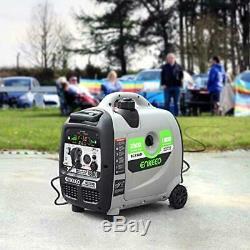 Enkeeo 2,300-Watt Quiet Portable Gas Powered Inverter Generator Home RV Camping