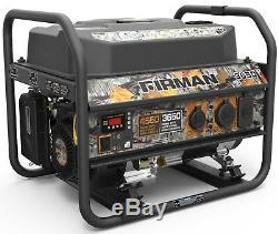 FIRMAN Power Equipment P03609 3650/4550 Watt Portable Gas Generator