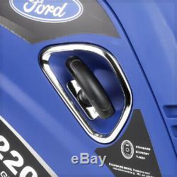 FORD 2200-Watt Gas Powered Recoil Start Portable Inverter Generator FG2200iS