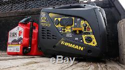 Firman Power Equipment W01781 1700/2100 Watt Portable Gas Inverter