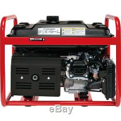 Gas Generator 4000 Watt Emergency Lifan Engine Power Camp Tailgate