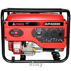 Gas Generator 4000 Watt Emergency Power Lifan Engine Tailgate Camp Home 12hr