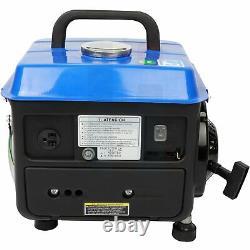 Gas Powered Portable Generator 800w Hand starting 60Hz Electric Machine