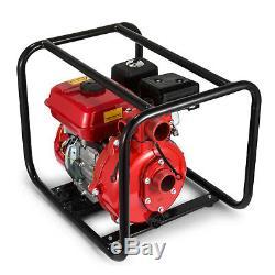 Gas Powered Water Pump Flood Irrigation EPA Portable 7.5 HP Water Transfer 2