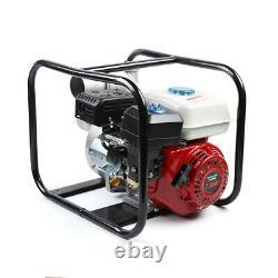 Gasoline Water Pump, 7.5 HP 210CC 3 Portable Gas-Powered Semi-Trash Water Pump