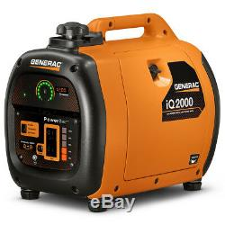 Generac 6866 iQ2000 2,000 Watt Portable Inverter Gas Powered Power Generator
