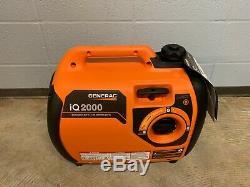 Generac 6866 iQ2000 2,000 Watt Portable Inverter Gas Powered Power Generator NEW